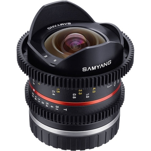 Объектив Samyang MF 8mm T3.1 Cine UMC Fish-eye II VDSLR Sony E