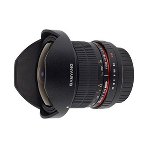 Объектив Samyang Canon MF 8mm F3.5 AS IF UMC Fish-eye CS II